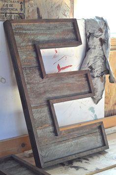 Pallet Wood Letters :: Hometalk