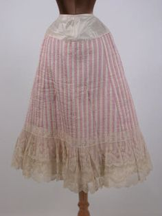 Beautiful 1890 petticoat
