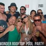 Wonder Rooftop & Pool Party (acte 2 - 03.08.14)