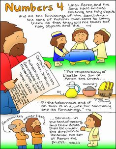 Doodle Through The Bible Numbers 4.  Free coloring page available at the website :)