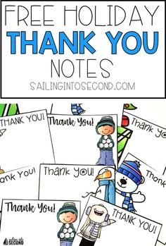 Are you looking for a quick and easy way to thank your students for any holiday gifts? These little note cards or printables are just for you! Simply print and cut! Jot down a sweet message to each student, and you're done!