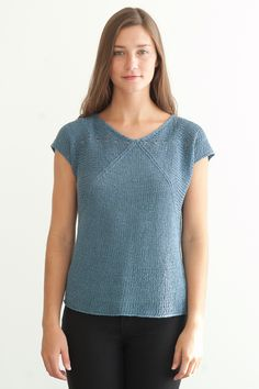 flex tee --> for quince and co linen kestral