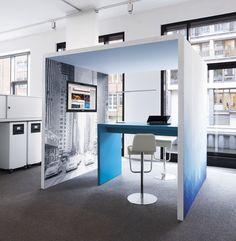 Schalldämmung und Absorption als Modulsystem 'spaces' | procedes i-d interior design - heinze.de