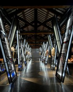 Fay's Diary is an exhibition designed by Migliore+Servetto Architects for Fay in 2006 in Milan. Interactive Exhibition, Exhibition Space, Showroom Interior Design, Interior Architecture, Tile Stores, City Museum, Interior Concept, Modern Shop, Design Museum