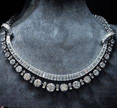 Necklace diamonds