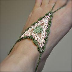 Ravelry: Boho Barefoot Sandals pattern by Izabela Motyl