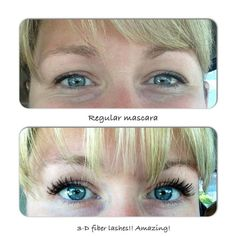 5bd4b0c4bb3 Younique 3D fiber Lash Mascara Before and After, Order Here:  www.youniqueproducts.