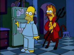 Simpsons Cartoon, Simpsons Quotes, Cartoon Memes, Cute Cartoon, Cartoons, Simpson Wallpaper Iphone, Cartoon Wallpaper, Simpson Wave, Simpsons Halloween
