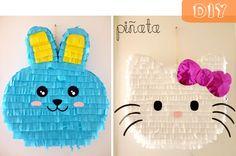 manitas de gato: diy: piñata