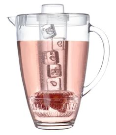 Fruit Vegetable flavor infusion Juice Water Pitcher Jug with Ice Rod