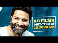 12 famous ads actually directed by Trivikram Srinivas|DHONI,KOHLI,TAMANN...