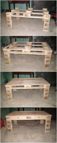 Have you been thinking about adding your house with the perfect furniture set up for the outdoor areas? Therefore it would be better idea to opt for the option of the wood pallet material. Here we present you with the image of the pleasant wood pallet table idea for you. It is simple and sophisticated designed out.