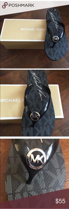 Michael kors flip flops❗️restocked ❗️ Brand new pair of flip flops with box . MICHAEL Michael Kors Shoes Slippers