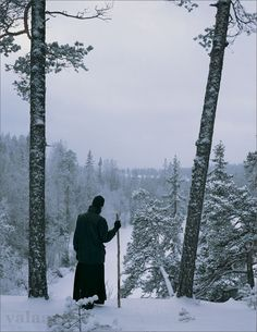 A photo from Valaam monastery in Russia