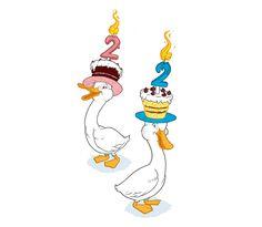 Ilustración para mi décimo segundo aniversario www.sugdesign.com