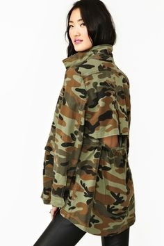 Boot Camp Jacket     $68.00