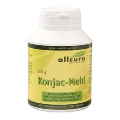 allcura Konjac-Mehl Container, Products, Natural Remedies, Canisters