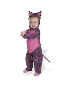 Pink Leopard Infant Costume-- Purrrrfet for Corah!!