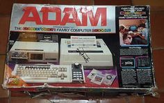Colecovision Adam Computer System with Printer, Joystick, and Keyboard.