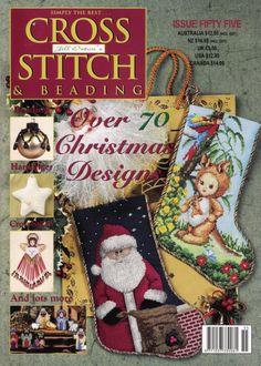Cross Stitch Tree, Cross Stitch Books, Cross Stitch Designs, Cross Stitch Patterns, Magazine Cross, Cross Stitch Magazines, Christmas Cross, Christmas Design, Christmas Stockings