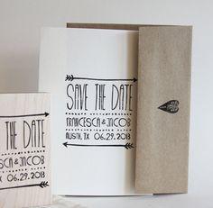Arrow Save the Date Wedding Stamp : Bohemian Arrow Wedding Inspiration : Pieceful Wedding Save The Date Karten, Save The Date Cards, Wedding Invitation Design, Wedding Stationary, Wedding Paper, Wedding Cards, Wedding Stamps, Save The Date Designs, Wedding Mood Board