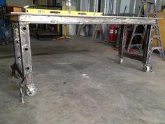 Welding table fabrication - The Garage Journal Board
