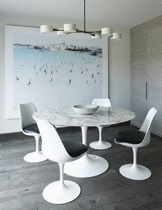 Saarinen Tulip Side Chair Eero Saarinen Knoll