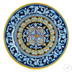 <p>Geometric pottery always adds a touch of luxurious style to any table, be it modern or traditional. More so D&G patterns, which uniquely blend details from Deruta traditional vario ceramics with contemporary colors and designs. Mix and match them to create your unique majolica table settings.</p>