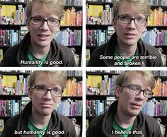 Because I don't want to make Hank Green feel left out over my lack of Hank .