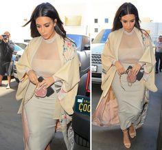 Kim Kardashian Kills It In A Kimono - X17 Online