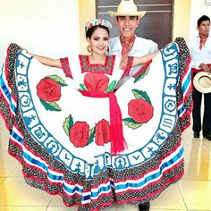 Beautiful Sinaloa Folklorico Couple