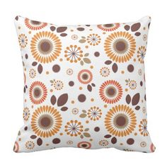 Pattern Berry and flower Pillow