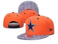 NFL New Era Dallas Cowboys Snapback Caps Hats Orange 253 bff988c7e