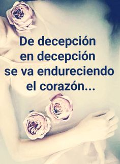 〽️ De decepción en decepción..