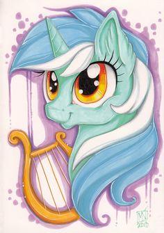 Lyra Heartstrings. I recognise the art style! I love the artist :)
