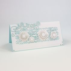 Tonic Studios - Delicate Daisy Die Set - Scrapbooking Made Simple Tonic Cards, Studio Cards, Elizabeth Craft, Card Making Supplies, Die Cut Cards, Scrapbook Cards, Scrapbooking, Flower Cards, Make It Simple