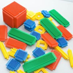 Playskool Bristle Blocks! Loved these!
