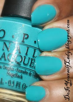 "O.P.I - ""Fly"" for Autism Awareness.  Fly is Also a gorgeous summer color."