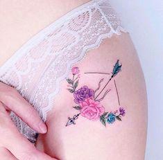 Minimal Tattoo Models for Women – Charming Women – Tattoo World Bad Tattoos, Future Tattoos, Mini Tattoos, Love Tattoos, Sexy Tattoos, Beautiful Tattoos, Body Art Tattoos, Tattoos For Women, Amazing Tattoos