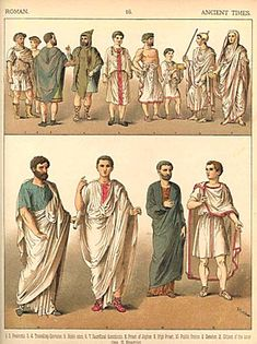 Roman Dress reproduction by Albert Kretschmer Ancient Rome, Ancient Greece, Ancient History, Roman History, Art History, Rome Fashion, Fashion History, Roman Man, Roman Dress