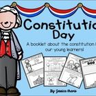 Constitution Day can be a difficult day to explain to our little learners!  This little booklet and activity pages will hopefully make this topic e...