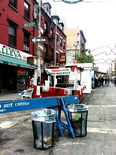Little Italy, New York.