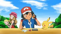 Ash and the Misty thing