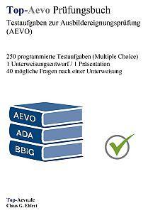Top Aevo Prufungsbuch Ausbildereignungsprufung Ausbildung Prufungsvorbereitung Unterweisung
