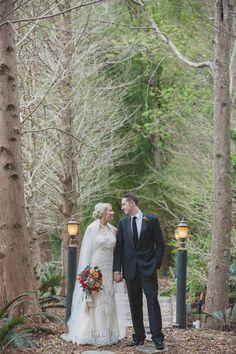romantic bride and groom wedding photography idea