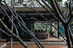 "Collect this idea The Lake House is a modern home completed by Bangkok-based studio Openbox Company and located in Kaoyai, Nakornratchasima, Thailand. All the architecture planning for this home was influenced and connected to its privileged position: ""The site of this project was on the edge of a small, man-made lake, inside a property adjacent …"