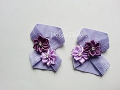 Pie desnudo sandalias de bebe bebe descalzo Por Happy2sisters Baby Sandals, Bare Foot Sandals, Baby Shoes, Baby Girl Accessories, Baby Head, Baby Sewing, Purple Flowers, Diy Fashion, Barefoot