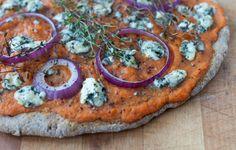 Razowa pizza dyniowa