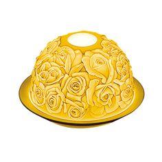 Porcelanowy lampion jest także znakomitym pomysłem na utrwalenie różanego motywu. #Bernardaud