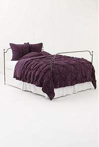 Purple comforter for the bedroom